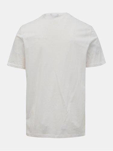 Biele tričko s potlačou ONLY & SONS Normie