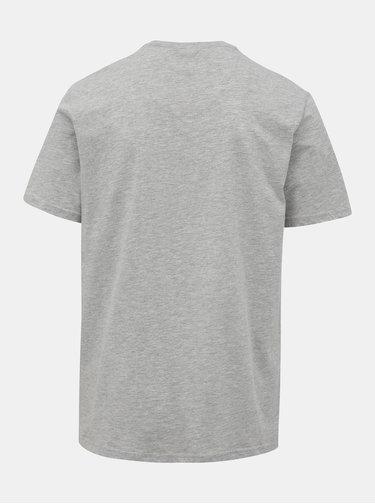Šedé tričko s potlačou ONLY & SONS Normie