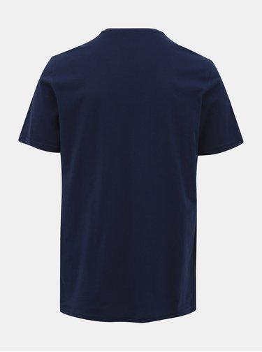 Tmavomodré tričko s potlačou ONLY & SONS Normie