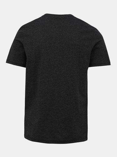 Tmavošedé tričko Jack & Jones Skate
