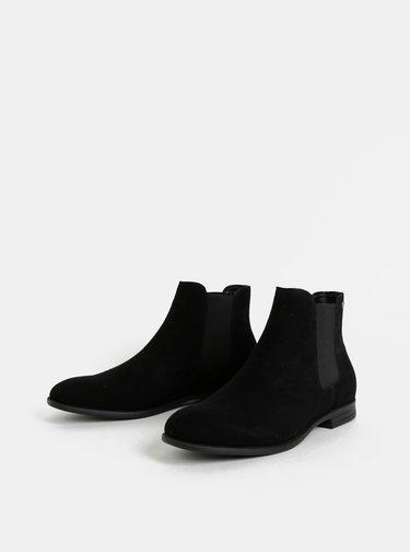 Čierne chelsea topánky Jack & Jones Mitchell