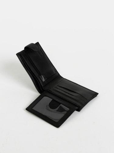 Černá pánská kožená peněženka Rip Curl Slaven