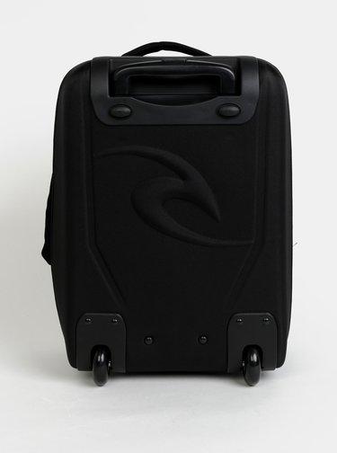 Čierny vzorovaný kufor Rip Curl Black Sand 35 l