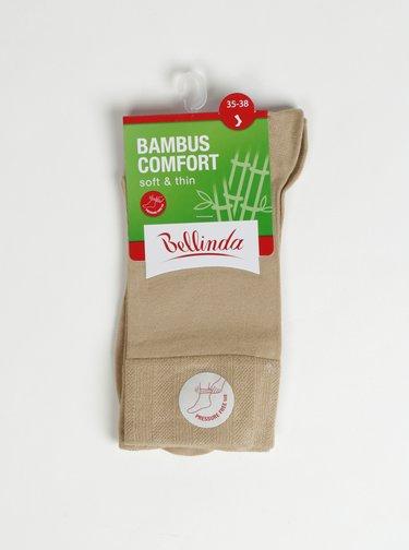 Telové dámske ponožky Bellinda Bambus Comfort