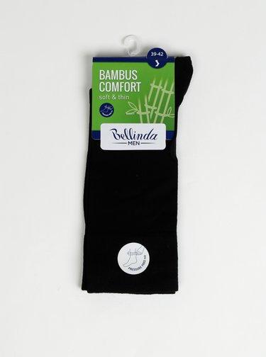 Černé pánské ponožky Bellinda Bambus Comfort