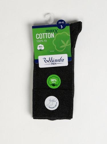 Tmavošedé pánske ponožky Bellinda Cotton Maxx