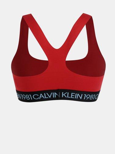Červená podprsenka Calvin Klein Underwear