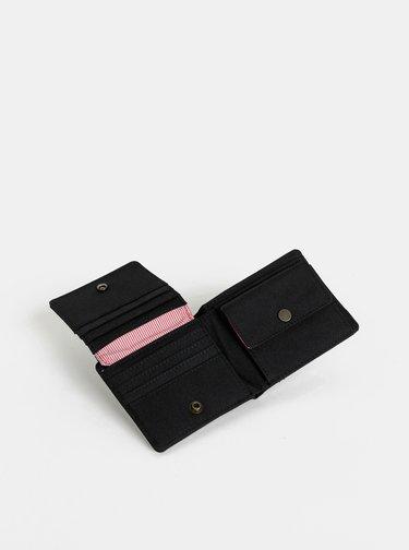 Čierna peňaženka Herschel Supply Hans