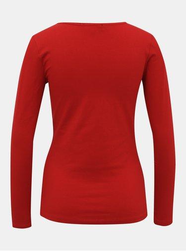 Červené dámské basic tričko ZOOT Jane