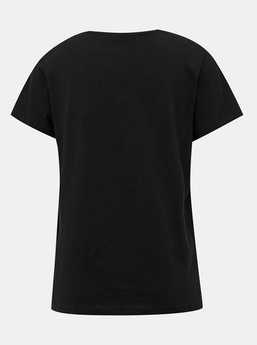 Čierne basic tričko ONLY Pure
