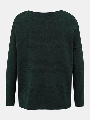 Tmavě zelený svetr ONLY Brenda