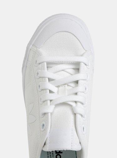 Biele dámske tenisky adidas Originals Nizza