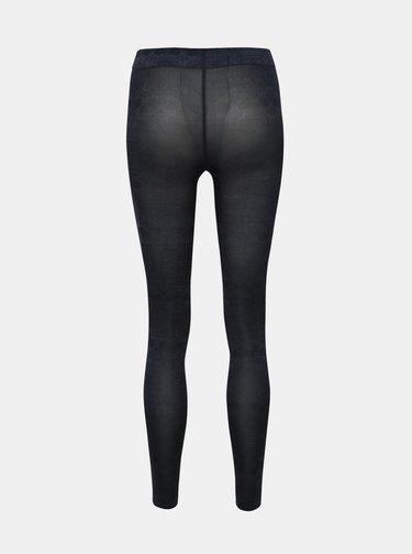 Tmavošedé vzorované pančuchové nohavice Pompea Kleber
