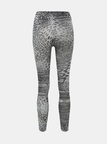 Šedé vzorované legíny Pompea Orietta