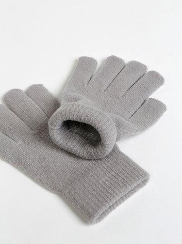 Šedé dámské rukavice Haily´s Fiona