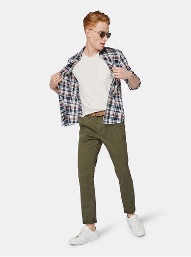 Kaki pánske chino nohavice Tom Tailor Denim