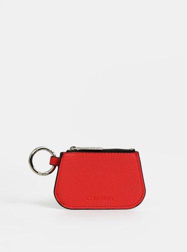 Tmavohnedá vzorovaná kabelka s odnímateľným púzdrom 2v1 Calvin Klein Jeans
