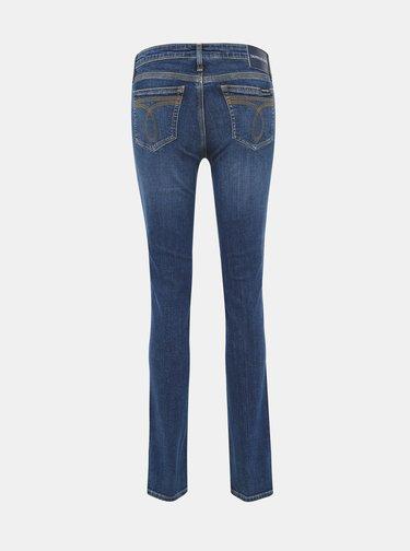 Modré dámské slim fit džíny Calvin Klein Jeans