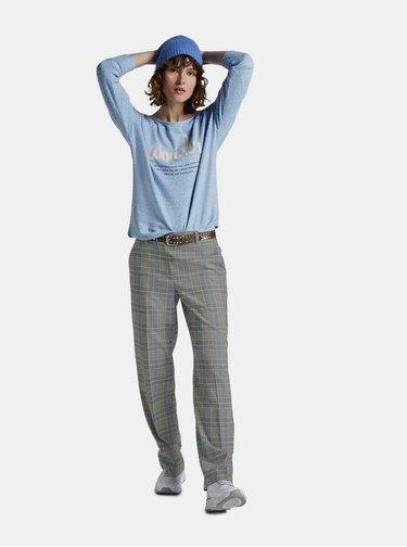 Svetlomodrý dámsky sveter Tom Tailor