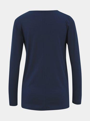 Tmavě modré kojicí tričko Mama.licious Wrammy