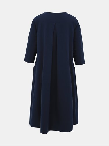Tmavě modré basic šaty ZOOT Peggy
