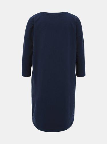 Tmavomodré basic šaty ZOOT Serena