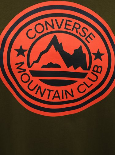 Khaki pánské tričko Converse