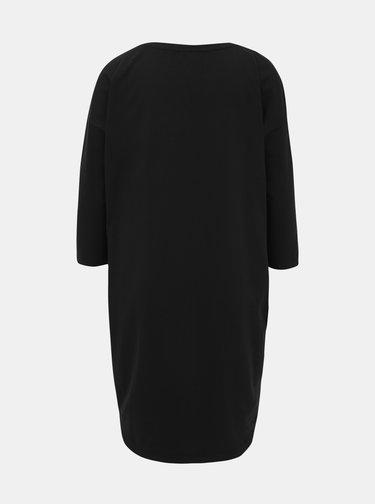 Čierne basic šaty ZOOT Serena