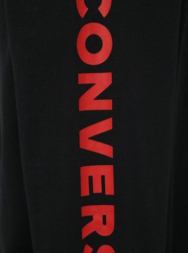 Černé pánské tričko s potiskem Converse