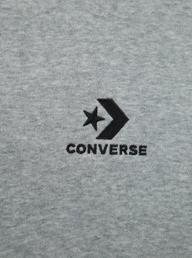 Šedá pánska basic mikina Converse