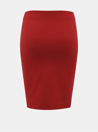 Červená pouzdrová sukně ZOOT Victoria