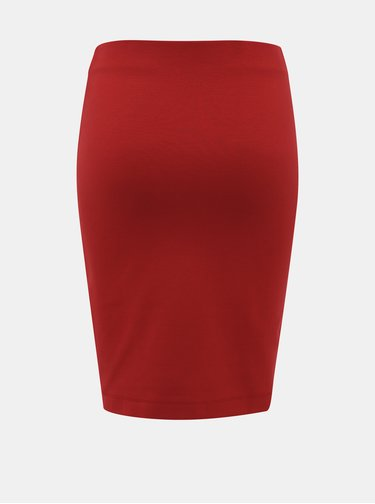 Červená púzdrová sukňa ZOOT Victoria