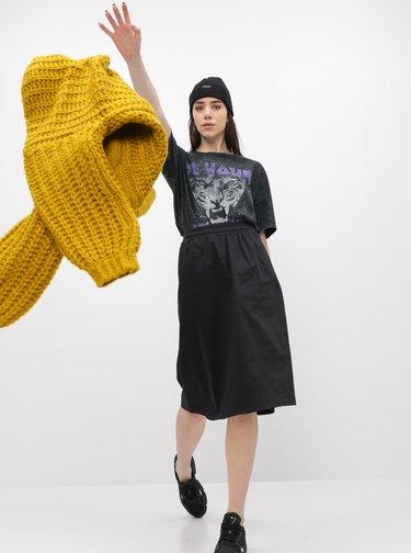 Čierne tričko Noisy May Ida