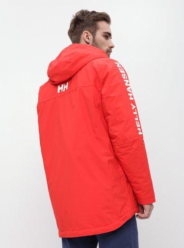 Červená pánská nepromokavá zimní bunda HELLY HANSEN Active