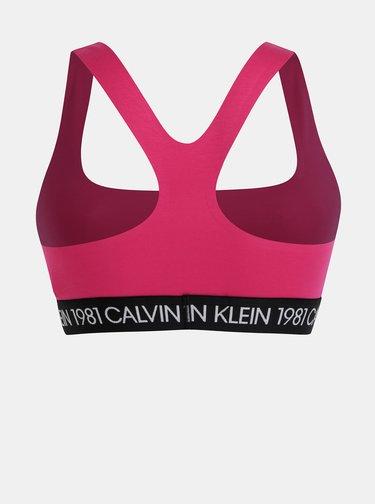 Růžová podprsenka Calvin Klein Underwear