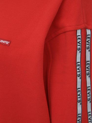 Červená dámska mikina s pásom Levi's®