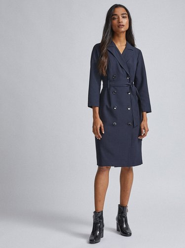 Tmavě modré šaty Dorothy Perkins Petite