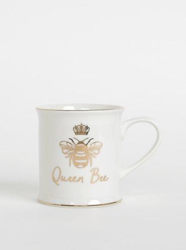 Krémový hrnek s potiskem Sass & Belle Queen Bee