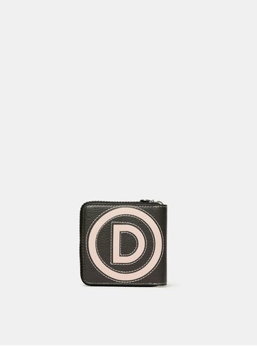 Čierno-ružová peňaženka Desigual