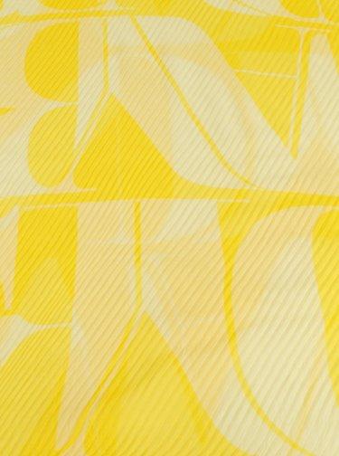 Žlutý dámský vzorovaný šátek Tom Tailor