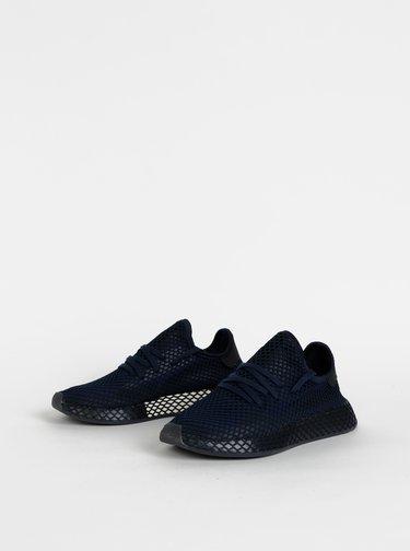 Tmavomodré pánske tenisky adidas Originals Deerupt