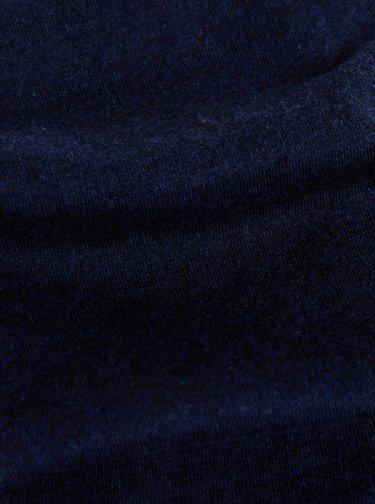 Tmavomodrý pánsky šál Tom Tailor
