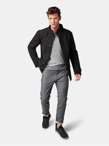 Šedé pánske chino nohavice Tom Tailor