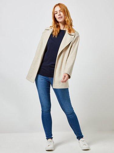 Béžový ľahký kabát Dorothy Perkins
