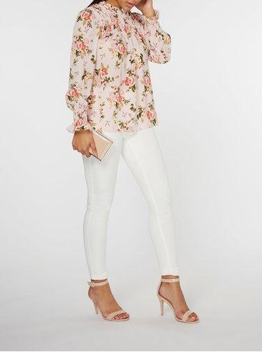 Ružová kvetovaná blúzka Dorothy Perkins