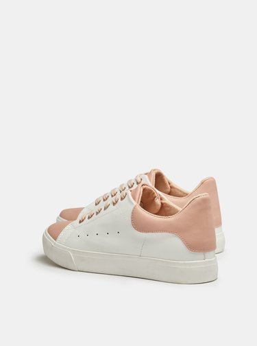 Ružovo-biele tenisky Dorothy Perkins