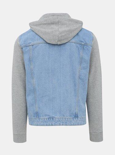 Šedo-modrá džínová bunda ONLY & SONS Coin
