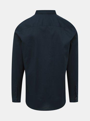 Tmavomodrá slim fit košeľa Jack & Jones Bla