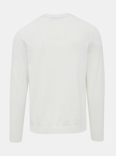 Biely sveter Jack & Jones Blasheran