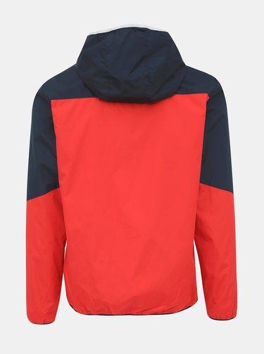 Modro-červená bunda Jack & Jones James